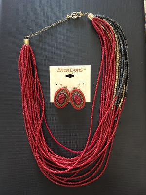 Necklace and earrings for Sale in Fort McDowell, AZ