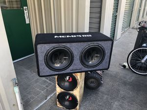 Memphis speakers for Sale in Texas City, TX