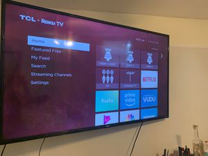 55 inch tv TCL for Sale in Coral Gables, FL
