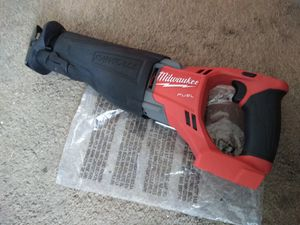 Milwaukee New SAW ZALL M18: FUEL-Brushless-Cordless ( 2720 20)( Tool only) Herramienta Nueva, No Batería for Sale in Los Angeles, CA
