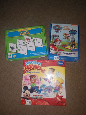 Kids games for Sale in Raleigh, NC