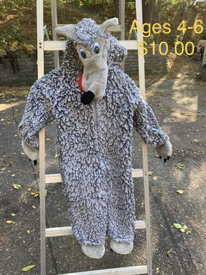 Wolf costume for Sale in Shoreview, MN