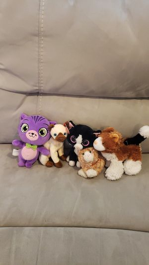 Cat plushies for Sale in Rancho Cordova, CA