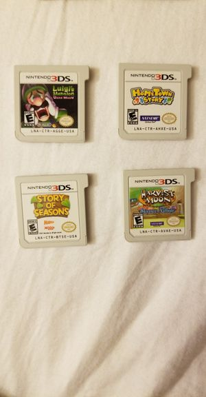 4 3ds & 4 ds games for Sale in Las Vegas, NV