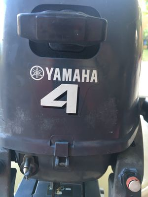 2012 Yamaha 4 hp 4 stroke outboard for Sale in Miami, FL