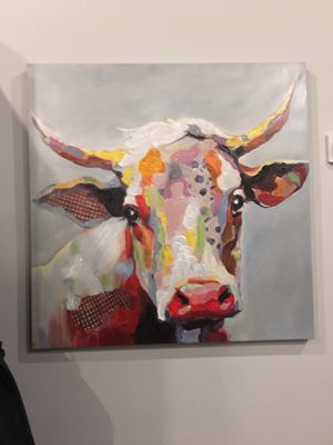 Cow painting for Sale in St. Louis, MO