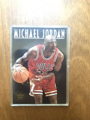 Michael Jordan center stage skybox card for Sale in Raleigh, NC