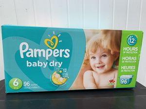Pampers size 6 for Sale in Chicago, IL