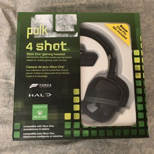 Brand new Polk Audio 4 Shot Gaming Headset. Also Overwatch, BF1, COD IW, COD AW bundle. for Sale in Deltona, FL