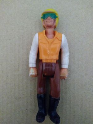 "VINTAGE COLLECTIBLE 1974 FISHER PRICE 4"" DIRT BIKE MOTOCROSS RIDER ACTION FIGURE. for Sale in El Mirage, AZ"
