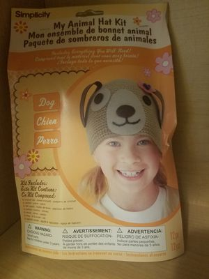Simplicity My Animal Kid's Dog Hat Kit for Sale in Hubbard, OR
