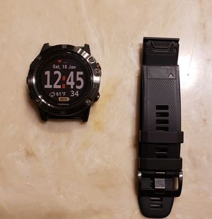 Fenix 5x Sapphire for Sale in Dallas, TX