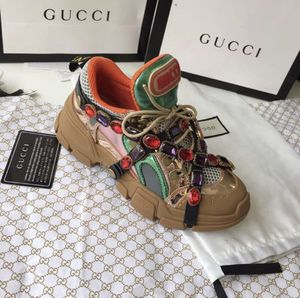 *NEW DRIP ALERT* 🚨 Gucci Flashtrek Sneakers w/ Crystals (Women's) for Sale in Durham, NC