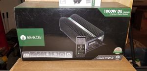 Solis Tek 1000w digital ballast with remote control for Sale in Phoenix, AZ