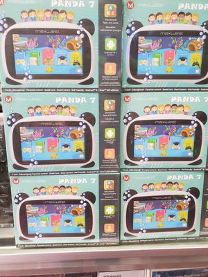 """7"""" PANDA KIDS TABLET AVAILABLE. BRAND NEW. ANDROID 8.1. ALOT EDUCATIONAL GAMES BOOKS SONGS AND MUCH MORE for Sale in Los Angeles, CA"""