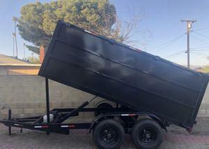 8X12X4 DUMP TRAILER 2020 BRAND NEW for Sale in Fontana, CA