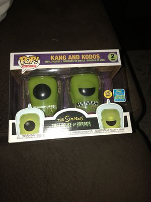 Kang and Kodos Comic Con exclusive. for Sale in Riverside, CA