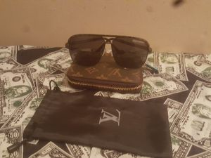 Louis Vuitton monogram wallet and glasses for Sale in Essex, MD