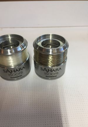 New spools for Shimano 1500FB Fishing Reel for Sale in Rancho Cucamonga, CA