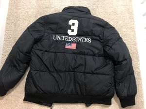 Polo Ralph Lauren Bubble Bomber Coat Jacket for Sale in Silver Spring, MD