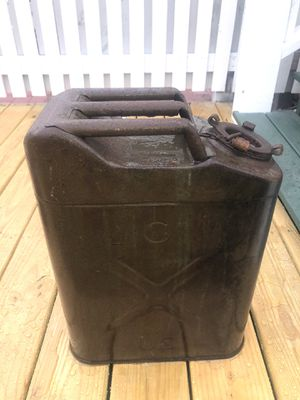 VINTAGE US ARMY WATER CAN - LARGE for Sale in Tampa, FL