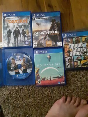 Ps4 games for Sale in Colwich, KS