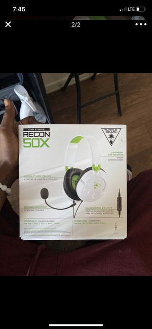 turtle beach headset for xbox one for Sale in Los Angeles, CA