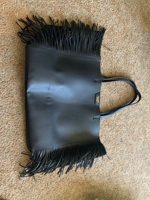 Victoria secret black fringe tote brand new never used for Sale in El Cajon, CA