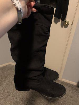 Boots black for Sale in Phoenix, AZ