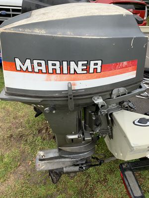 Mariner 40hp outboard with Yamaha controls. for Sale in Federal Way, WA
