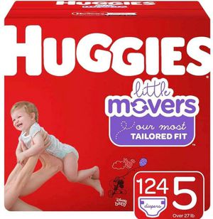 Huggies little movers size 5 diapers for Sale in Downey, CA