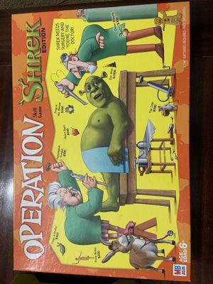 Operation Shrek board game for Sale in San Antonio, TX