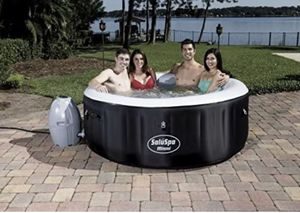 NEW BestWay Miami SaluSpa Hot Tub w/ Extras for Sale in Hudson, OH
