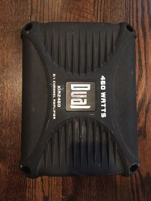 Dual 460 Watts Amplifier (Car Audio) for Sale in Charlotte, NC