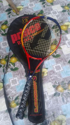 PRINCE REACT TRITIUM SYNERGY SERIES LONGBODY Tennis Racket With Case- $65 Or Make Your Offer for Sale in Pico Rivera, CA
