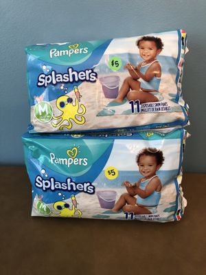 Pampers splashers for Sale in Columbia, SC