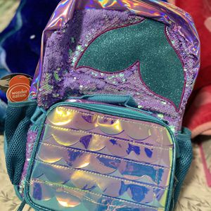 Mermaid Backpack & Lunch Bag for Sale in Brentwood, MD