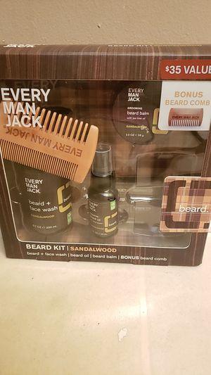 Every Man Jack beard kit Sandalwood for Sale in Pineville, LA