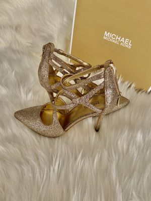 Michael Kors Gold Heels for Sale in Mountain View, CA