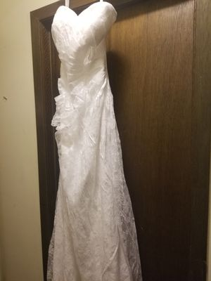 Wedding dress size 12 for Sale in Burnsville, MN