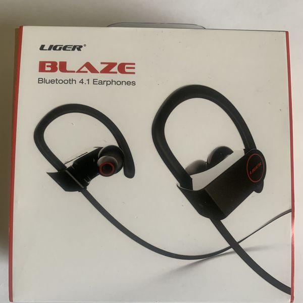 LB Bluetooth Wireless Earbud Headphones
