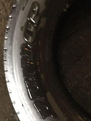 Truck Tire Recap Dunlop Low Profile for Sale in Peoria, IL