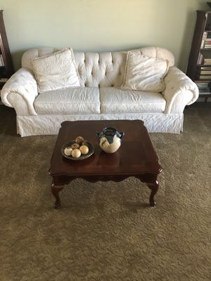 Couch & coffee table for Sale in Colleyville, TX