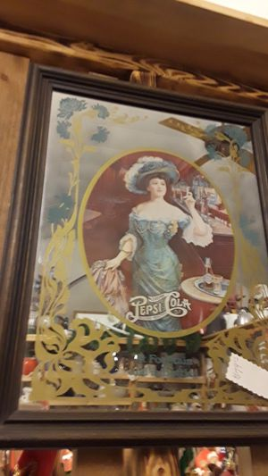 Pepsi cola mirror for Sale in Pequot Lakes, MN