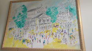 Charles Cobelle original signed painting for Sale in Princeton, NJ