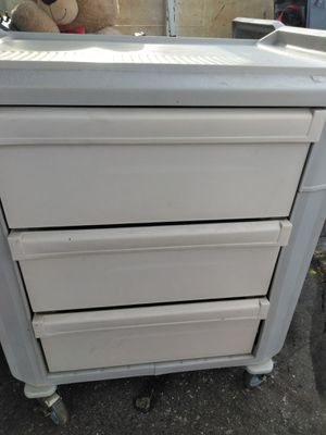 Metroflex utility cart with three drawers for Sale in Colton, CA