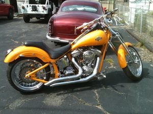 Custom built soft tail 250 rear tire for Sale in New Bedford, MA