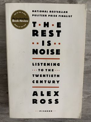 The Rest is Noise (Music Textbook) for Sale in Selma, CA