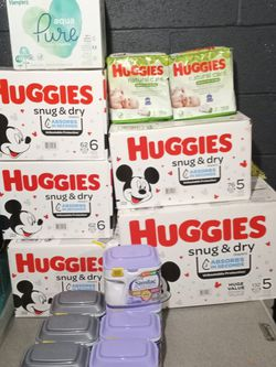 Babies Pampers And Huggies Diapers for Sale in Columbus,  OH