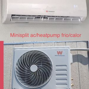 White Westinghouse Minisplit ac/heater frio/calor 12000btu (1ton) for Sale in Houston, TX